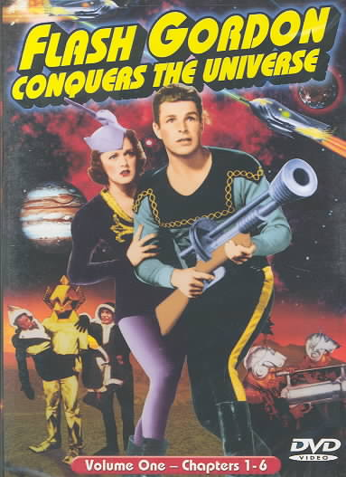 FLASH GORDON CONQUERS UNIVERSE VOL. 1 BY CRABBE,BUSTER (DVD)
